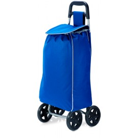 BENZI Azul Carro De Compra Poliester 33 x 55 x 20 cm BZ5416
